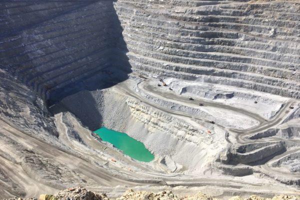 quarrying site