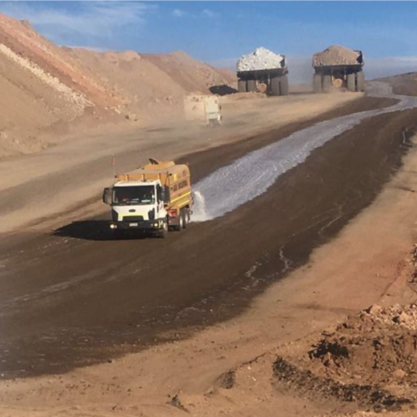 DMS-DS Haul Road Dust Control application