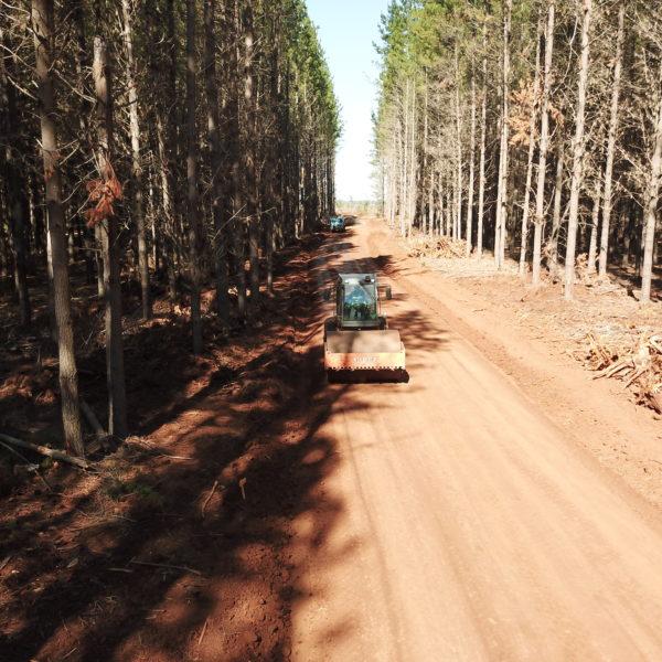 road flattening