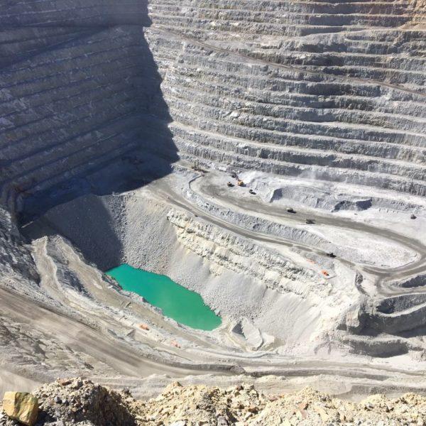 soil mining site