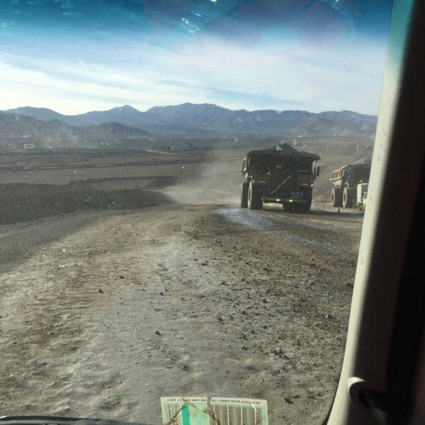 ABCDust - Codelco - contrôle des poussières - route minière