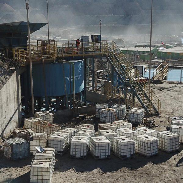 Control de Polvo en rampa minera